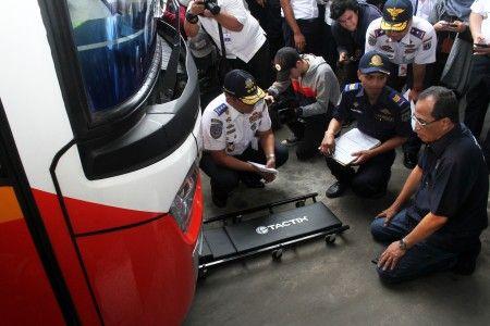 Cek Kelayakan Armada Mudik di Kampung Rambutan, 173 Bus Baru Lulus 18