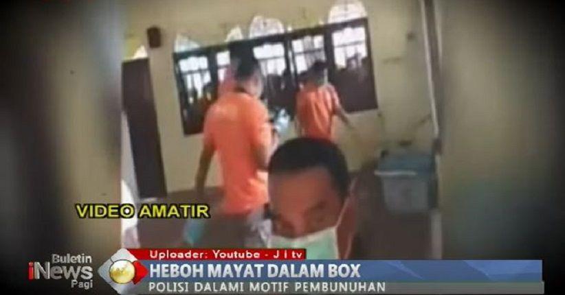Heboh Mayat dalam Box di Musala, Hanya 12 Jam Polisi Tangkap Pelaku