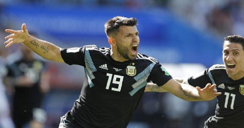 Hasil Babak I: Timnas Argentina Diimbangi Islandia