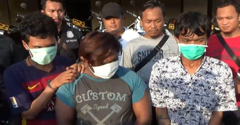 Sempat Buron, 2 Pelaku Penodongan di Angkot Akhirnya Diciduk Polisi