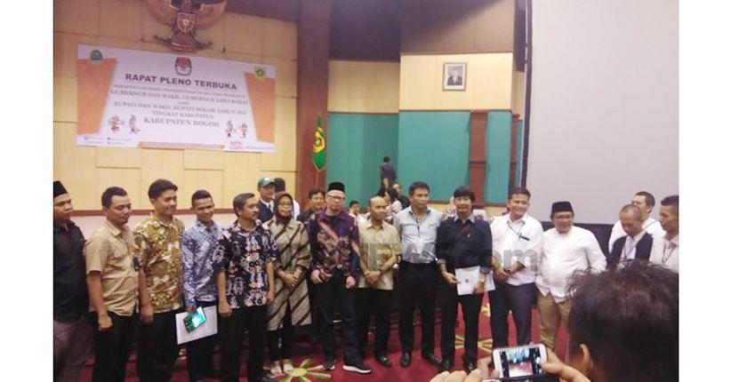 Sah, Ade Yasin-Iwan Menang Pilkada Kabupaten Bogor 2018