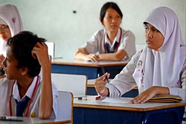 Virus Corona Merebak, Kelulusan Siswa SD dan SMP Ditentukan Sekolah