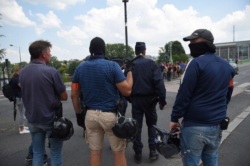 Final Piala Dunia, Prancis Sebar 110.000 Polisi