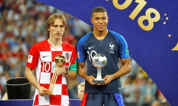 Daftar Penghargaan Piala Dunia 2018, Modric Raih Pemain Terbaik