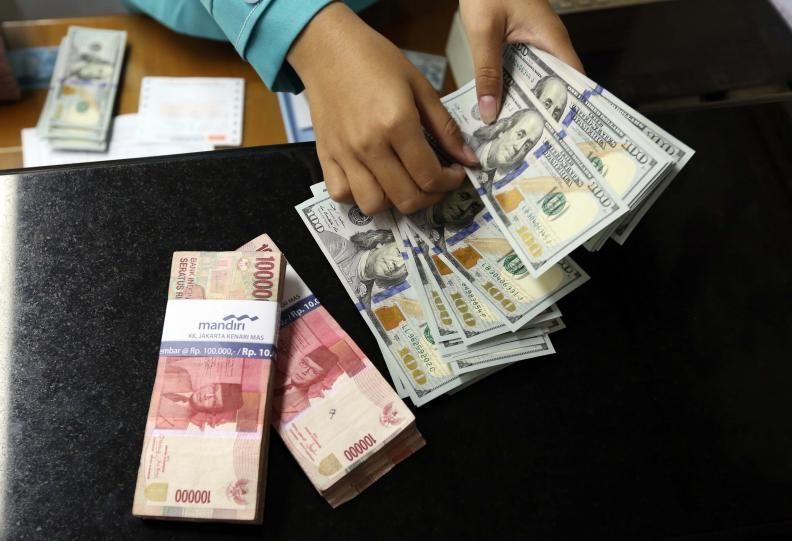 Kurs Rupiah Sesi Pagi Menguat ke Rp14.033 per Dolar AS