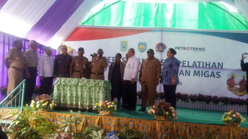 Gubernur Minta Pusat Pelatihan Migas Prioritaskan Putra Daerah