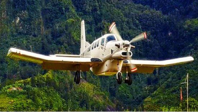 Cuaca Buruk, Pencarian Pesawat Dimonim Air Dilakukan Minggu Pagi