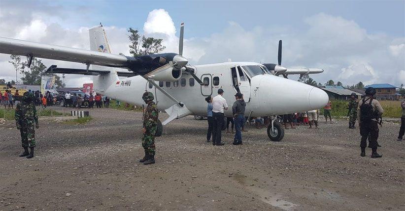 Pesawat Dimonim Air Hilang Kontak, Warga Mengaku Dengar Suara Dentuman