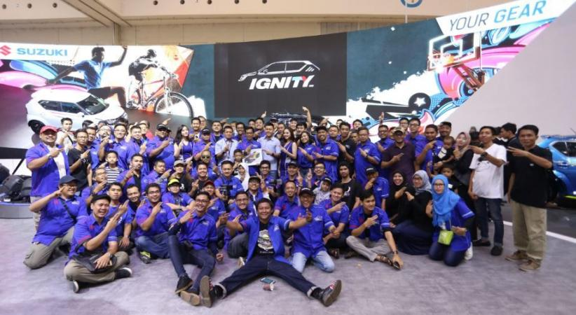 Ignity Jadi Komunitas Authorized Club Suzuki Ke-13