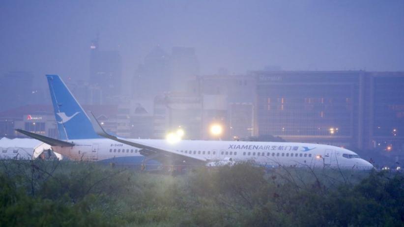 Diguyur Hujan Lebat saat Mendarat, Pesawat China Tergelincir di Manila