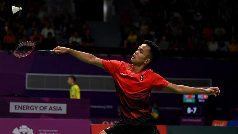 Anthony Ginting Kalah, Indonesia Tertinggal 0-1 dari Jepang