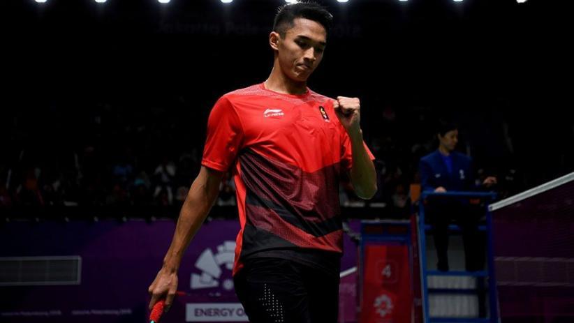 Jonatan Christie Bawa Indonesia Berbalik Unggul 2-1 atas Jepang