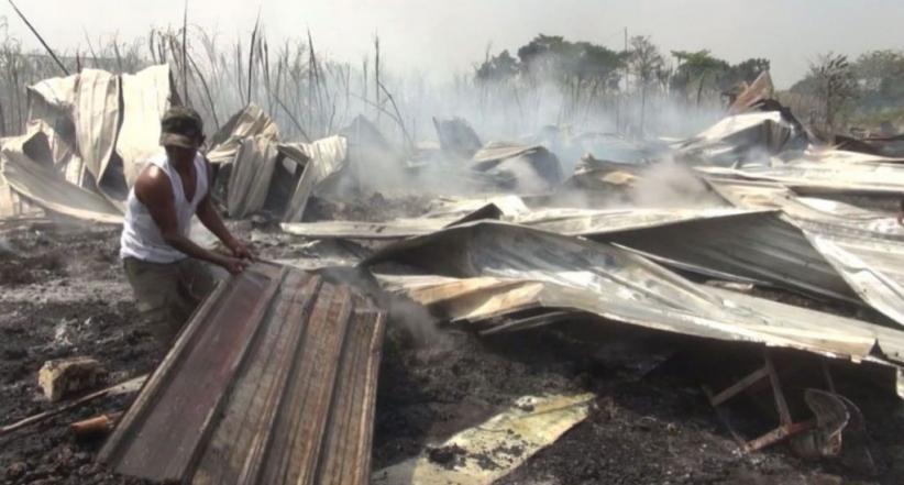 Ditinggal Berkurban, 2 Kandang Ayam dan Kebun Tebu 2 Ha Ludes Terbakar