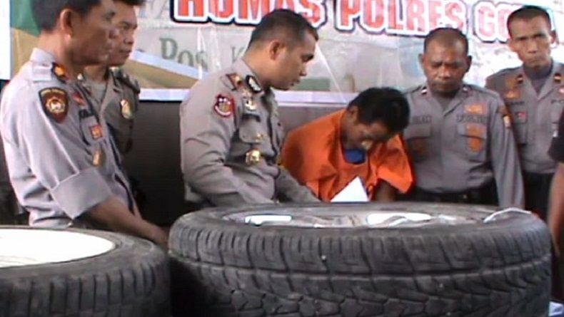 Curi Ban Mobil Milik 2 Anggota Polres Gowa, Pelaku Curat Ditembak