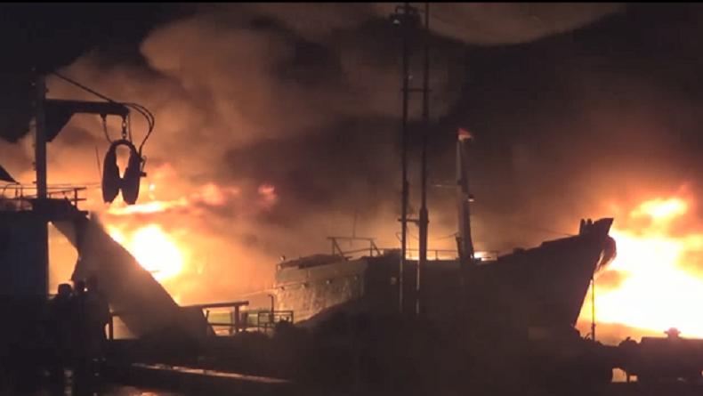 Tabung Gas Meledak, 2 Pekerja Perbaikan Kapal di Karimun Kepri Terluka