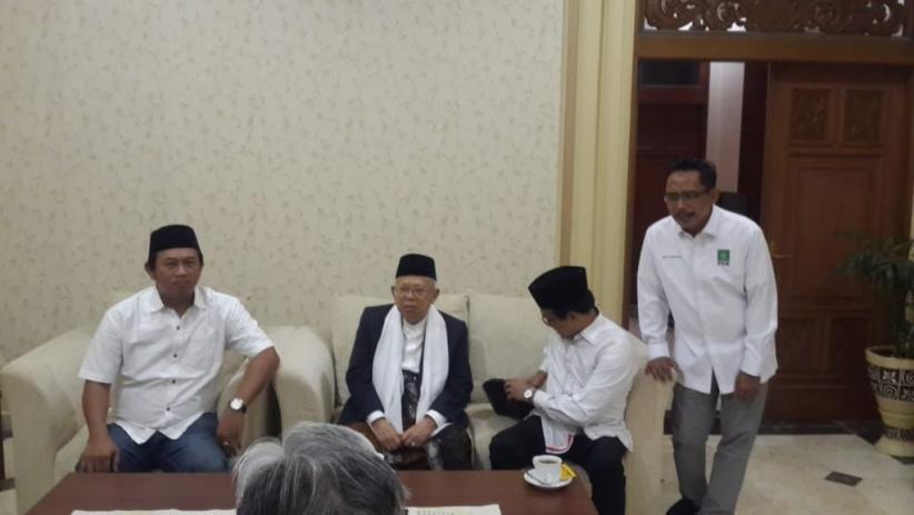 KH Maruf Amin: Saya Terima Senang Hati Silaturahmi Sandiaga Uno