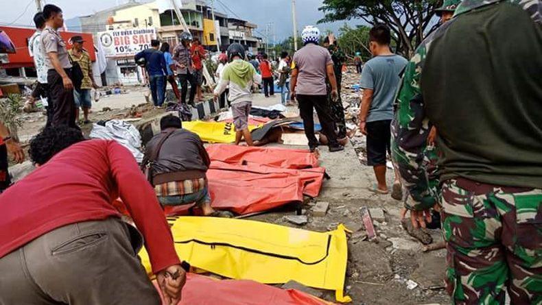 Data ACT: Korban Tewas Gempa dan Tsunami Palu Donggala 1.203 Jiwa