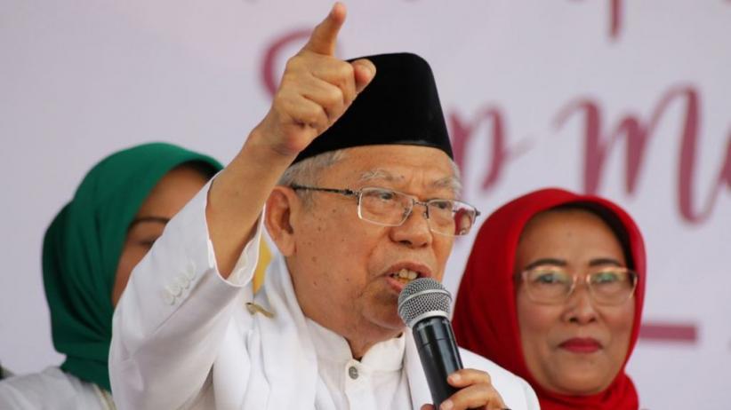 KH Ma'ruf Amin: Kunjungan ke Pondok Pesantren Bukan Kampanye