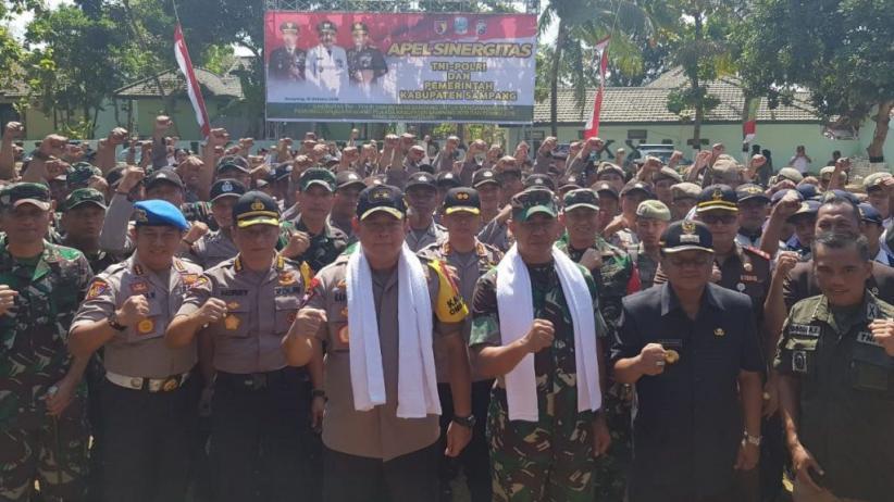 TNI-Polri Antisipasi Kerawanan Pemungutan Suara Ulang di Sampang