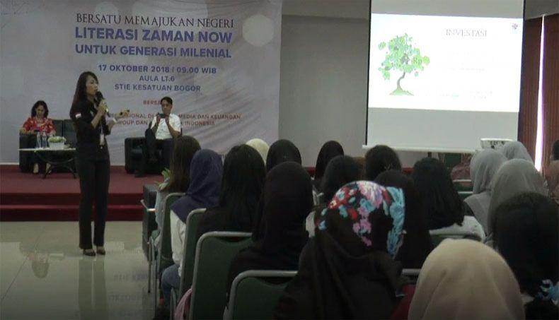 Mahasiswa STIE Kesatuan Bogor Antusias Ikuti Literasi Media MNC Group