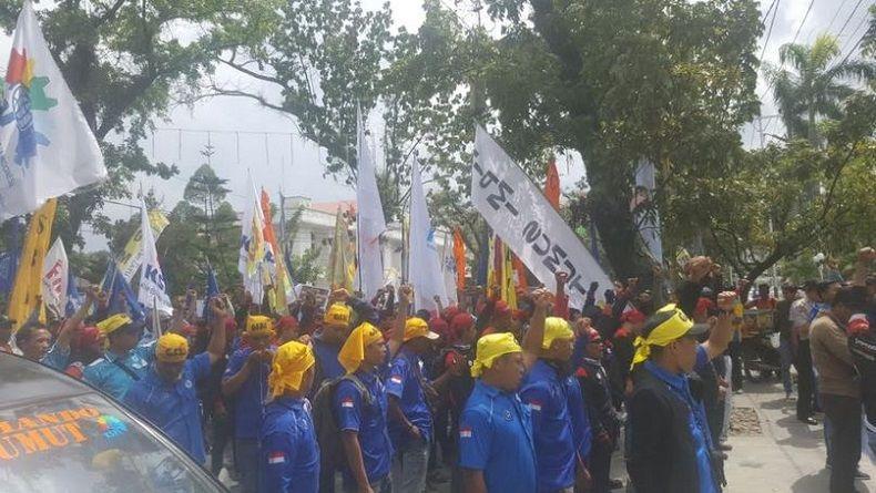 Tolak Besaran UMP 2019, Buruh Sumut: Upah Layak Harusnya Rp2,8 Juta