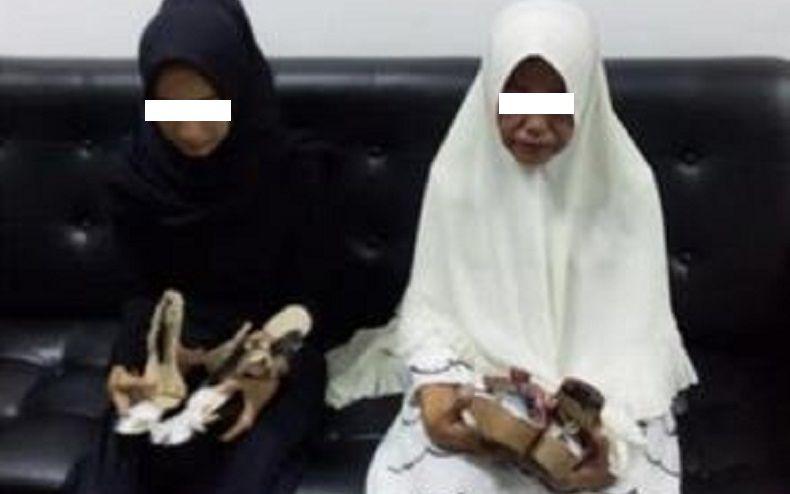 Selundupkan Sabu 1 Kg, Mertua dan Menantu Asal Aceh Ditangkap