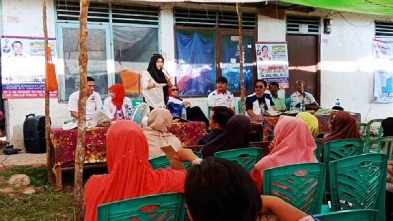 Caleg Perindo Blusukan dan Tampung Aspirasi Warga 3 Desa di OKU Sumsel
