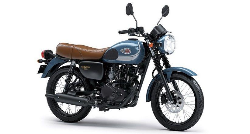 Lebih Retro, Kawasaki Luncurkan W175 dengan Warna dan Striping Baru