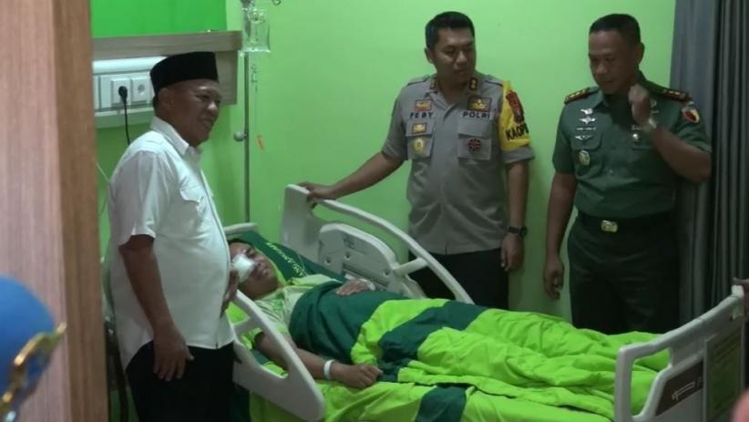 Polisi Korban Penyerangan di Lamongan Membaik, Kornea Mata Tidak Pecah