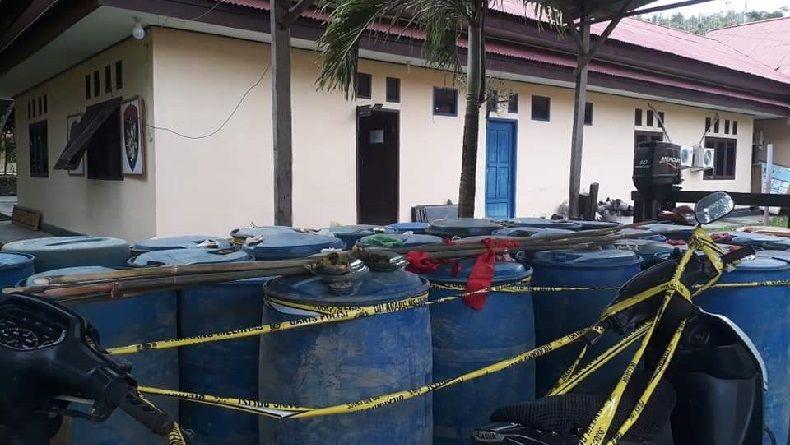 Polisi Ungkap 'Pelangsiran' BBM Kelas Kakap di Kalsel