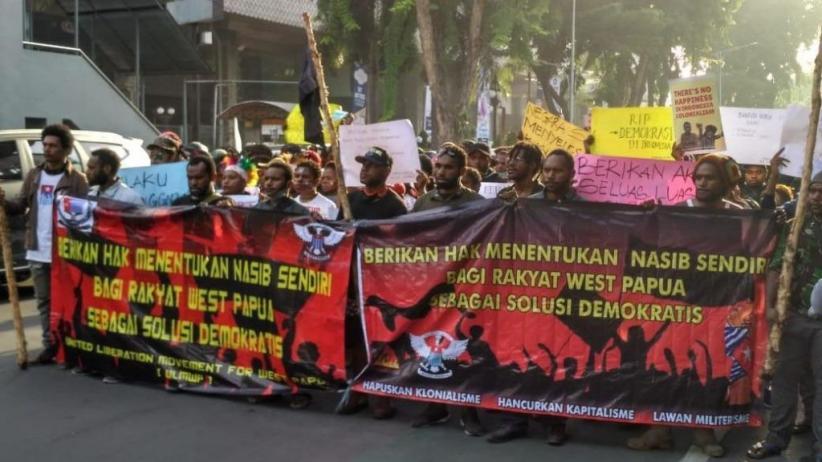 Demo Minta Merdeka, Mahasiswa Papua Nyaris Bentrok dengan Ormas
