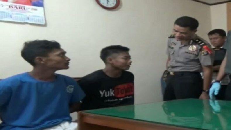 Cabuli Bocah SMP, Dua Pengangguran Ini Diringkus Polisi