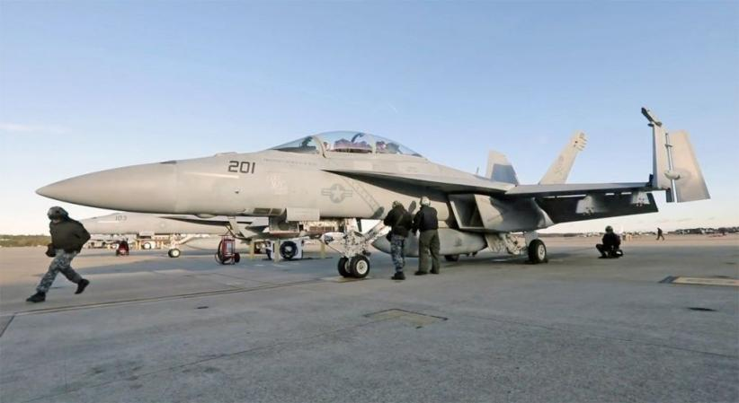 Penghormatan Terakhir Angkatan Laut AS untuk George HW Bush