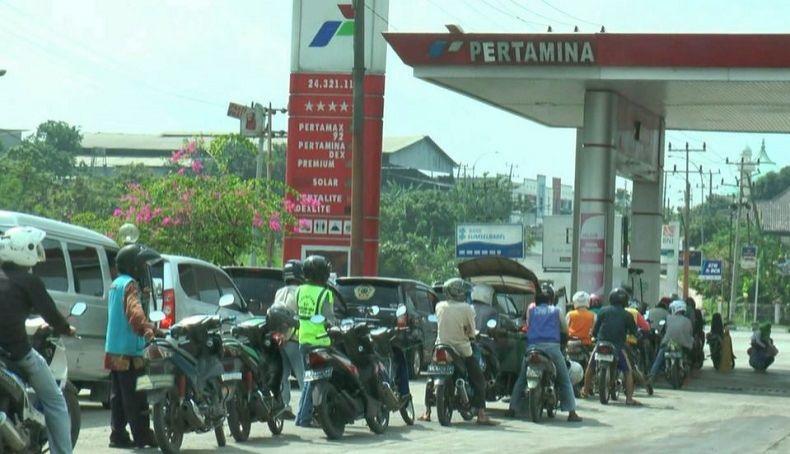 BBM Premium dan Solar di Baturaja Alami Kelangkaan
