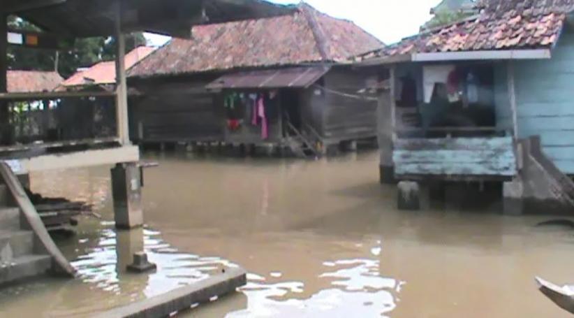 Banjir Rendam Ratusan Rumah di Kabupaten Pali Sumsel