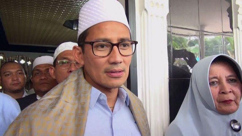 Disebut Jokowi Jadi Kandidat Capres 2024, Sandiaga Uno: Terlalu Dini