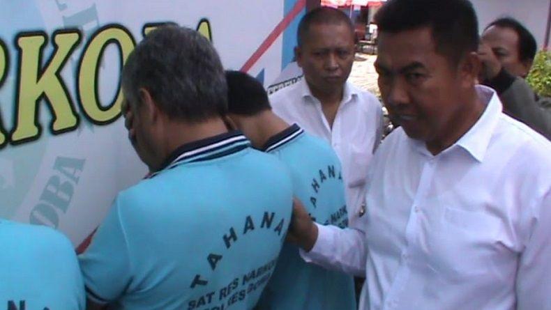 5 Bandar Narkoba Jaringan Lapas di Gowa Ditangkap, 1 Oknum Sipir