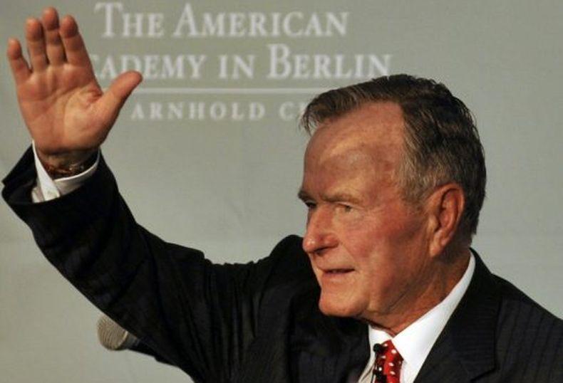 Terungkap, George HW Bush Pernah Jadi Orang Tua Asuh Bocah Filipina