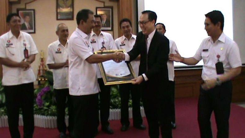 DPMPTSP Pemkab Badung Raih Sertifikat ISO 9001-2015