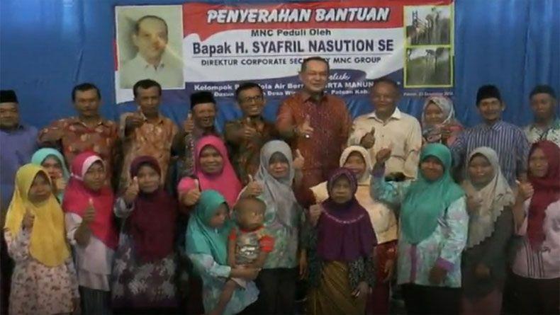 MNC Peduli Bangun Sarana Air Bersih untuk Warga 2 Kecamatan di Kendal