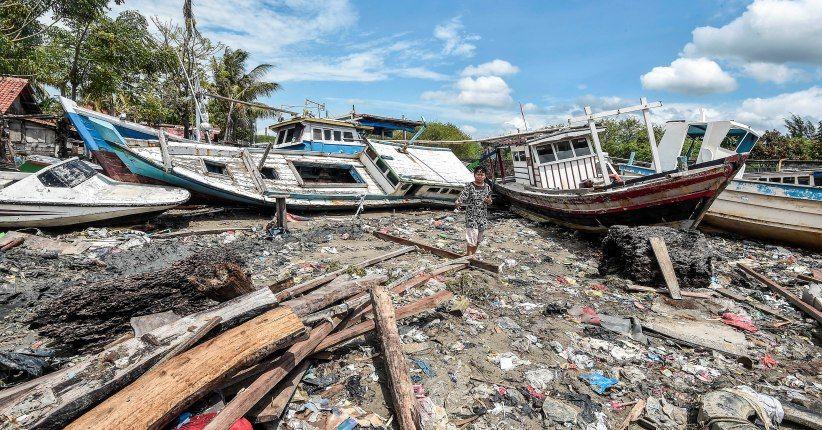 Area KEK Tanjung Lesung yang Rusak Akibat Tsunami Sekitar 8 Hektare