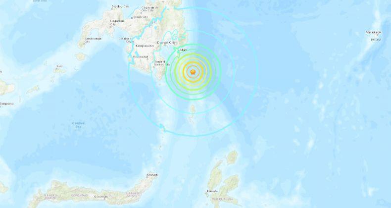 Peringatan Tsunami Pascagempa 6,9 SR di Filipina Dicabut