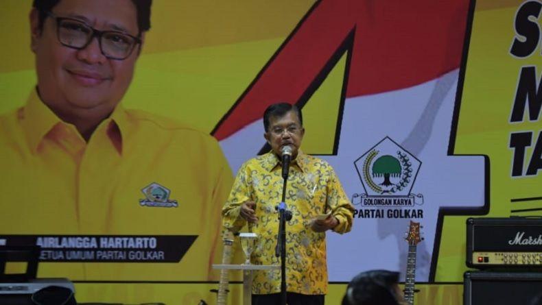 JK Prediksi Ada 4 atau 5 Partai Gagal Masuk Parlemen di 2019