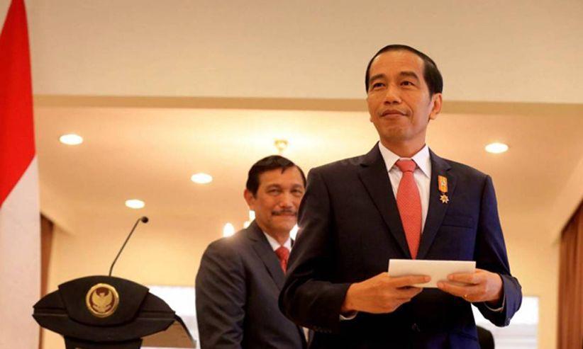 Jokowi Lantik 9 Gubernur dan Wakil Gubernur Periode 2018-2023