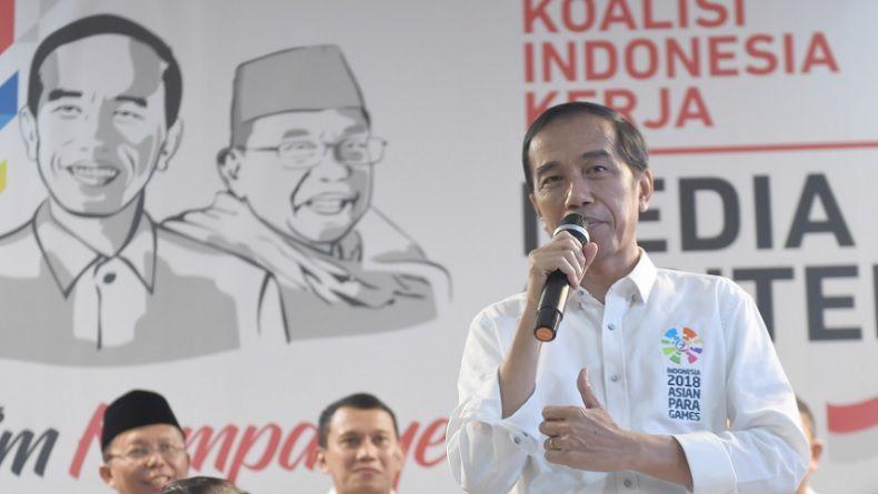 Masa Kampanye Capres Dimulai, Jokowi Hentikan Kebiasaan Bagikan Sepeda