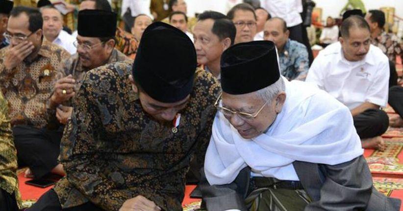 Unggul di Jatim, Jokowi - Ma'ruf 65,7% Prabowo - Sandi 34,3%