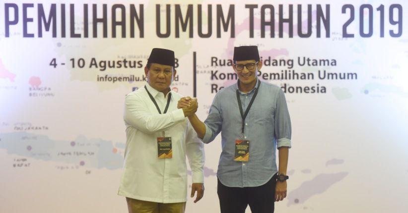 Revisi Visi Misi Dinilai Akan Pengaruhi Elektabilitas Prabowo-Sandi