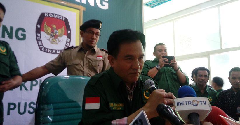 Yusril Hormati Sikap Puluhan Caleg PBB Dukung Prabowo-Sandi