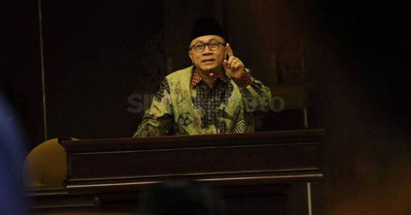 Ketua MPR Ajak Rakyat Indonesia Terima Hasil Pemilu 2019