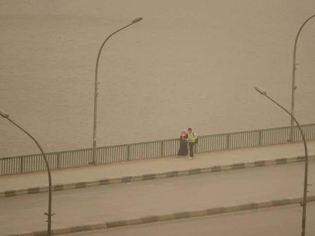 Sejumlah Pelabuhan di Mesir Tutup akibat Badai Pasir